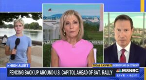 Read more about the article LET'S GO—MSNBC is now talking about the Saturday J6 rally as being a false flag!