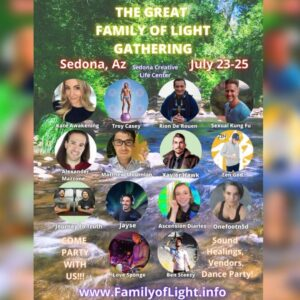 Read more about the article Get your tickets for family of the light gathering I'll be there doing security