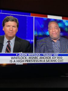 Read more about the article Did anyone else catch this on Tucker? They didn't say it, it was just on the scr