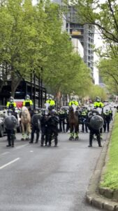 Read more about the article Melbourne, Australia. Keep these brave patriots in your prayers