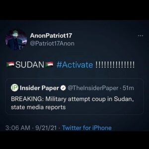 Read more about the article ABSOLUTELY COUP SZN  UPDATE: Government officials said an attempted coup in Suda