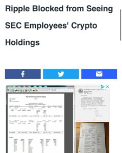 Read more about the article Panic much? What are you hiding SEC ?