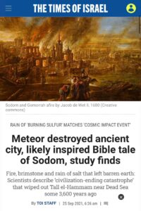 """Read more about the article """"It was meteor goy, there was no fire and brimstone."""""""