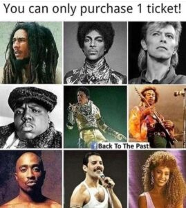 Read more about the article Bob Marley who y'all got