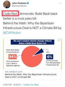 """Read more about the article TheStormHasArrived17, [30.09.21 16:05]  Skippy just tweeted out """"Code Red""""   Tho"""