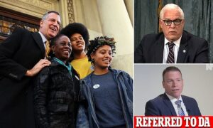 Read more about the article NYC Mayor de Blasio MISUSED his security detail to ferry his kids to college and