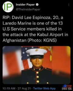 Read more about the article . RIP David Lee Espinoza. Your life mattered.  GOD BLESS YOU & your family.