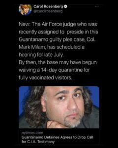 Read more about the article The Gitmo  Show.  I keep trying to tell Ya's, Gitmo is not what You want.