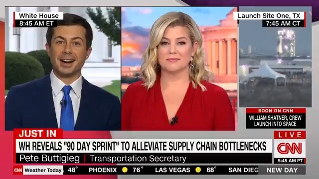 You are currently viewing WATCH: Transportation Secretary Pete Buttigieg makes a joke about how difficult