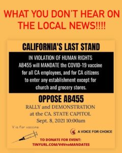 Read more about the article Just look at what they're trying to pass in California. Unbelievable. When you l
