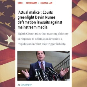 Read more about the article Devin Nunes, much like President Trump, isn't someone you can easily knock out.