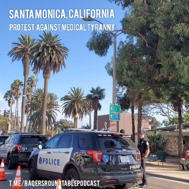 You are currently viewing Santa Monica CA Protests against medical tyranny  (Showed up a little late…per