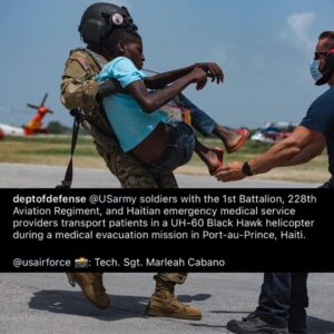 Read more about the article DoD Haiti comms…. I know a lot is going on, but still find it odd that the disas