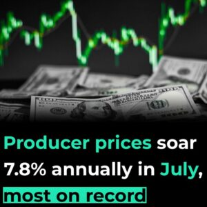 Read more about the article Fox Business: Producer prices accelerated at the fastest annual pace on record i