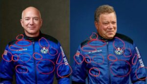 Read more about the article For those that believe Shatner went into low Earth orbit, take a real good look,