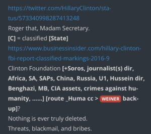 Read more about the article @TheBrebRoom How might this OPEN THE DOOR to [WEINER] / [Huma] / [HRC]? Logical